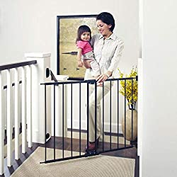 """cheap North States 47.85 """"Toddleroo Children's Gate, Wide, Lightweight, with Twist and Lock: Great for Larger Areas…"""