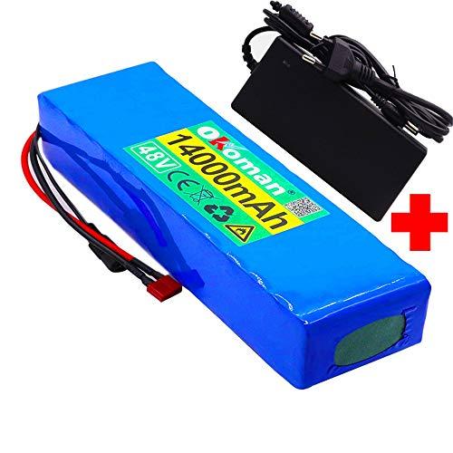 Batería De Iones De Litio para Bicicleta Eléctrica 48v 14a