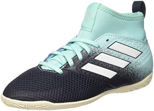 adidas Ace Tango 17.3 IN J, Botas de fútbol Unisex niños, Azul (Energy Aqua/Footwear White/Legend Ink), 33.5 EU