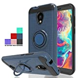 Wtiaw:Coolpad Legacy S Case,Coolpad Legacy SR Case,Coolpad 3648A Case,Coolpad Legacy S 3648A Case,360 Degree Rotating Ring Kickstand Dual Layer Defender Phone Cases for Coolpad Legacy S-CH Metal Slate