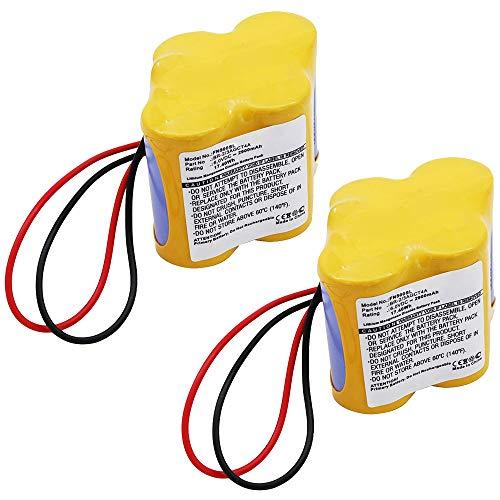 subtel 2X Batería Premium Compatible con Panasonic A98L-0031-0025, BR-2/3AGCT4A, Allen-Bradley SLC-500, MicroLogix...