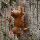 YRZSYF Escultura Ornamento Pastoral Animal Cachorro Ardilla Conejo Gato Resina Escultura Colgante Patio Jardín Estatuillas Artesanías Adornos Al Aire Libre-Style6