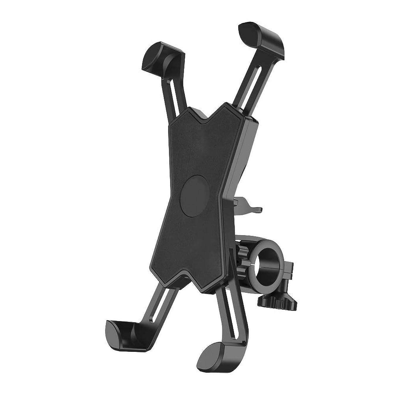 浸漬楽なフェミニン自転車ホルダー X型 バイク スマホホルダー スマホスタンド iphone android 携帯ホルダー ロードバイク マウンテンバイク アクセサリー 地図 ナビ 固定 360度回転 ナビスタンド