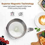 Secura-F280R-Milk-Frother-845-oz-Stainless-Steel