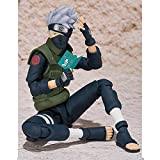 Rqcaxn Model Dolls Statues Figurines Hatake Kakashi Action Figure Movable Joints Face Change Anime Character PVC Collectible Model Toys Approx18CM PVC Figure Collectible Model Doll for Adult Gift