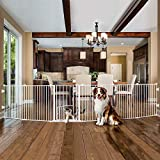 Carlson Pet Products Carlson 2-in-1 White Super Pet Gate and Pet Yard