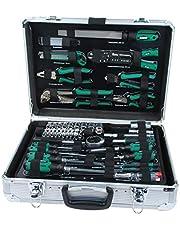 Brueder Mannesmann Werkzeuge M29075 Verktygslåda, Flerfärgad, 108 Delar