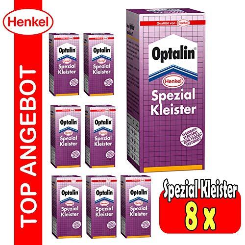 8 x Metylan Optalin Spezial Kleister Vlies Rauhfaser Venyl Fototapeten Vlieswand