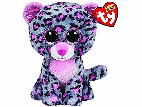 Tasha leopardo Peluche 15cm Beanie Boos Ty Juegos Juguete Idea regalo # AG17