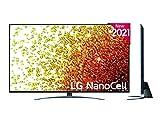 LG - Televisión LG 4K NanoCell 916PA 55' (139 cm), SmartTV webOS 6.0, Procesador Inteligente 4K α7 Gen4 con AI, Gaming Pro TV, Compatible con el 100% de formatos HDR, HDR Dolby Vision, Dolby Atmos
