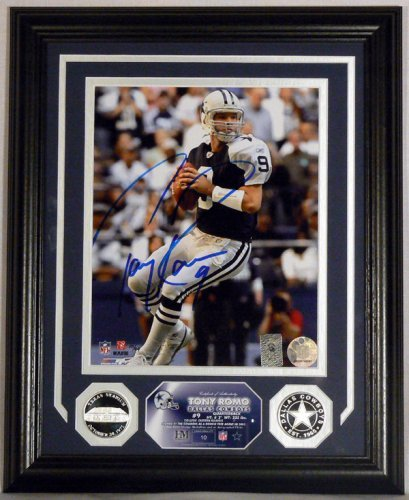 Tony Romo Silver Coin Photo Mint