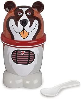 Ice Cream Mugz Personal-Size Instant Ice Cream Maker, DOG (St. Bernard)