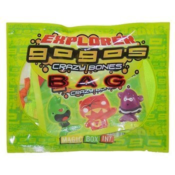 Crazy Bones Gogos Series 3 Explorer Bag 6 Crazy Bones by Magic Box Int.