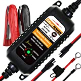 MOTOPOWER MP00205A 12V 800mA Fully Automatic Battery Charger / Maintainer for Cars, Motorcycles