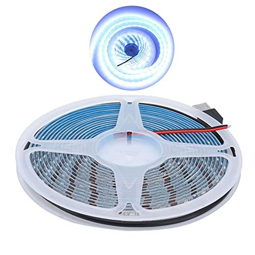 GAESHOW Tira de luz LED 5M Impermeable 15W 5V USB Tira Flexible para decoración Interior de Centro Comercial Luz Blanca Pura