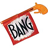 Rubie's Costume RUB6174ACC Co Theatrical Bang Gun Costume, Multicolor (Pack of 1)
