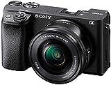 Sony Alpha 6400L - Kit Fotocamera Digitale Mirrorless con Obiettivo Intercambiabile SELP 16-50mm, Sensore APS-C, Video 4K HDR, S-log2, S-log3 e Hlg, ILCE6400B + SELP1650, Nero