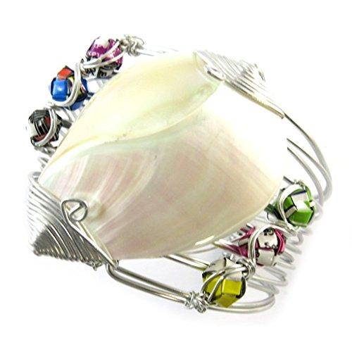 Craft pulsera 'New Life'perlas multicolor (hecho a mano).