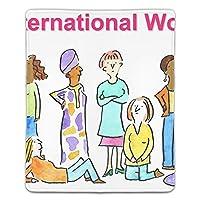 ゲーミング向け 大型マウスパッド デスクマット女性の日 防水材質 水で洗えるマウスパッド