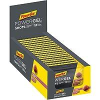 PowerBar PowerGel Shots Raspberry 16x60g - Gomas de Alta Energía de Carbono + C2MAX Magnesio y Sodio