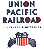 UNION PACIFIC TIME TABLES: BEFORE AMTRAK (English Edition)