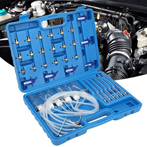 Medidor de flujo diésel Herramientas de reparación de automóviles Inyector diésel Inyector diésel de 6 cilindros Motor de 6 cilindros de acero inoxidable para inyectores