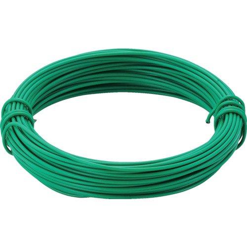 TRUSCO(トラスコ) カラー針金 小巻タイプ・20番手 緑 線径0.9mm TCWS-09GN