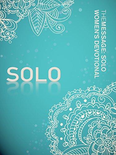 The Message: SOLO Women's Devotional (Softcover, Aqua)
