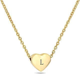 Best letter a gold necklace Reviews