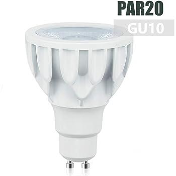 Luxvista 12W PAR20 Bombilla LED GU10 Luz Foco Blanco Frío 6000K No Regulable COB Ángulo 24°Reflector Downlight de Techo Reemplazo 100-120W Halógeno Bombillas (Blanco Frío, 1-Pack): Amazon.es: Iluminación