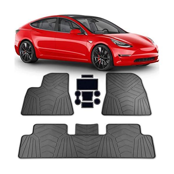 All Weather Floor Mats for Tesla