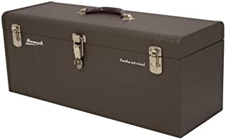 Homak 24-Inch Industrial Steel Toolbox, Brown Wrinkle Powder Coat, BW00200240