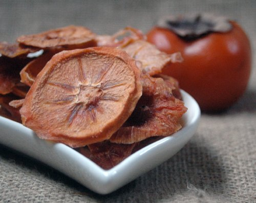 Naturix24 – Persimone, Sharonfrucht Scheiben getrocknet – 1 Kg-Beutel