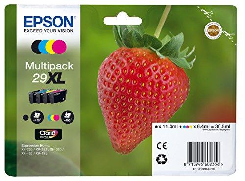 Epson 29XL serie Fragola Cartuccia Originale Getto D'Inchiostro, 4 Colori