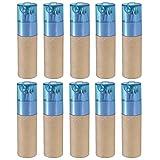 eBuyGB Lot de 10 crayons de couleur avec taille-crayon pour fête mariage restaurant Bleu