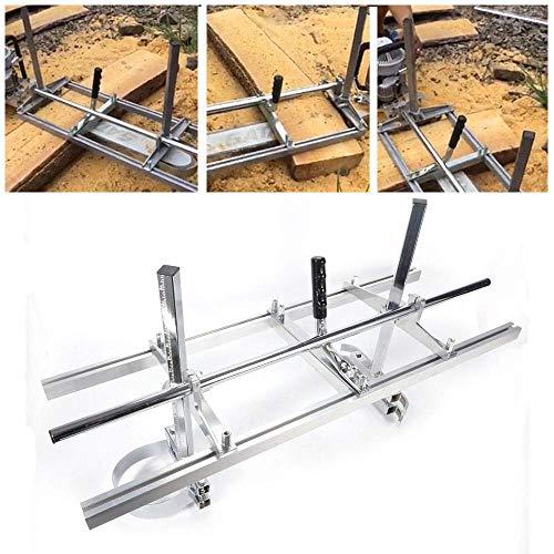 RANZIX 36 Zoll Mobile Sägewerk für Motorsäge Kettensäge Holz Brett Für 14 Bis 36