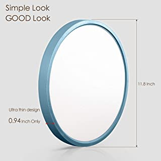 TALOYA Low Profile Ceiling Light Blue Boy(12 Inch/20 Watt),3 Color Temperature in One (3000k/4000k/6500K),Flush Mount LED Light Fixture for Baby Dining Room Bedroom,0.94 Inch Thickness Round