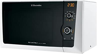 Electrolux EMS21400W 18.5L 800W Blanco - Microondas (18,5 L, 800 W, Giratorio, Blanco, 1000 W, Apertura por empuje)