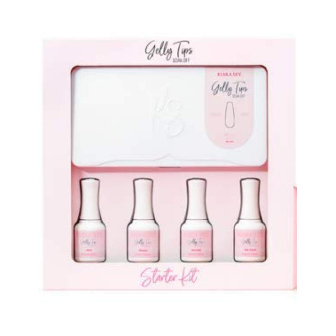 40% OFF Cheap Sale Lowest price challenge Kiara Sky Gelly Tips Starter Kit. and to Apply Lightweight Easy