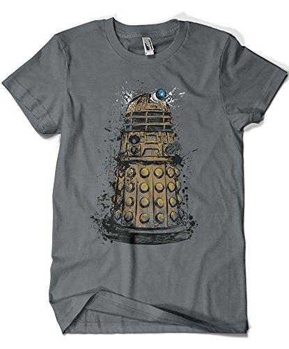 2027-Camiseta Premium, Doctor Who - Exterminate (Dr.Monekers)
