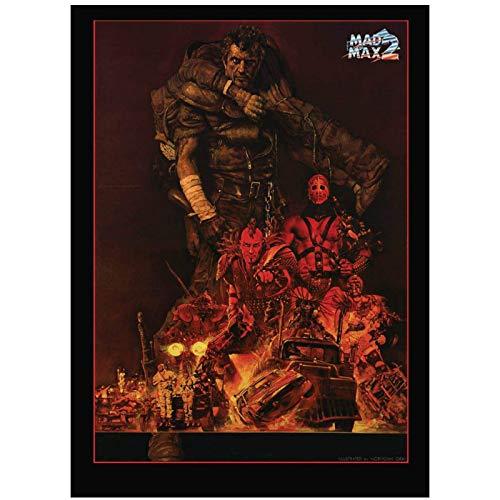 Mad Max Fury Road 2015 Movie Art Poster Canvas Painting Decoración para el hogar Posters e impresiones Imágenes Canvas Prints Wall Art-50x70cm Sin marco