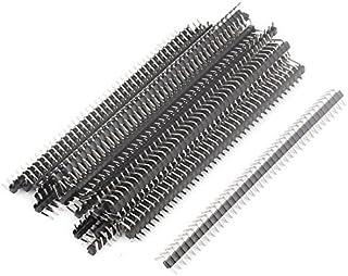 DealMux 25 Stks Enkele Rij 40Pin 2.0mm Rechte Hoek Mannelijke Pin Header IC Connectors