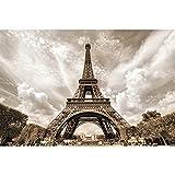 GREAT ART® XXL Poster – Eifelturm – Wandbild