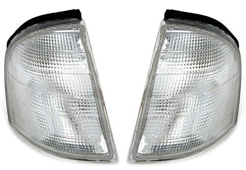 AD Tuning DEPO Frontblinker Set Weiß inkl. Fassung + PY21W Leuchtmittel Links + rechts