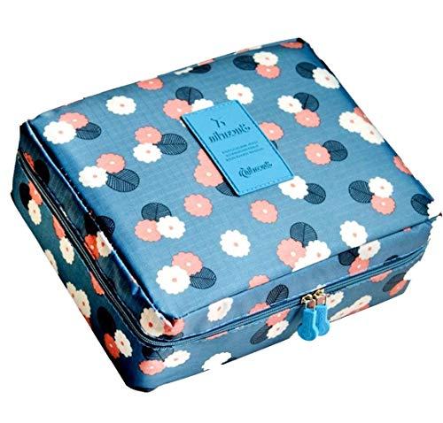 FASTUNBOX (LABEL) Travel Cosmetic Makeup Case Wash Organizer Storage Pouch Travelling Organizer Travel Bag Travel for Women Inner Ware Organizer