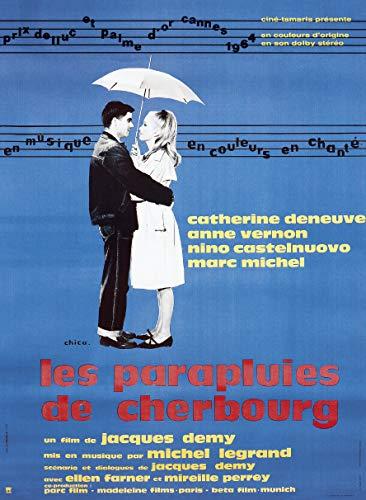 Les Parapluies de Cherbourg - Affiche de Film Originale (ressortie) - 40x53 cm - Pliée