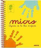 Additio A101 - Agenda Micro para escuela infantil (catalán), 0 a 3 años, color amarillo