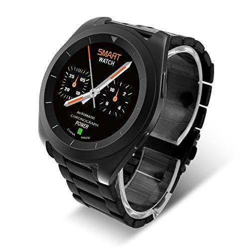 No.1 G6 Intelligente Heart Rate Bracciale Sport Fitness Tracker Sonno Quality Monitor PSG Chiamata / Notifica Promemoria Per Android e IOS(Nero)