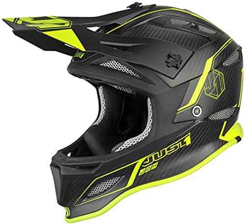 Just 1 Helmets Just1 Jdh Elements Yellow + MIPS XXL Casco de...