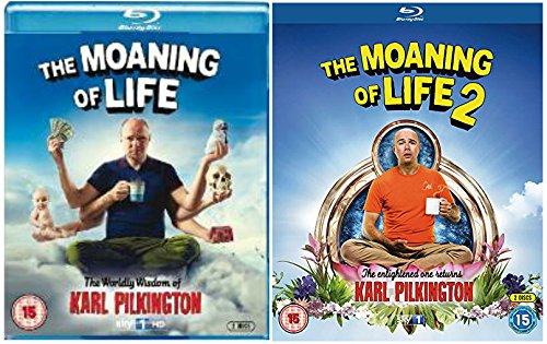 The Moaning of Life Complete Series 1 & 2 : The Wordly Wisdom of Karl Pilkington DVD Collection